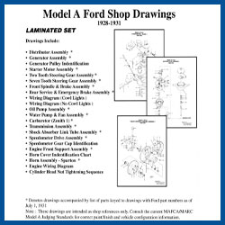 model a ford shop drawings - model a ford - buy online!