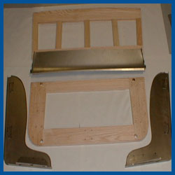 Model A Ford Parts Front Sear Frame Riser