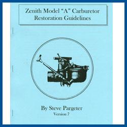 Carburetor Restoration Guidelines - Model A Ford - Buy Online!