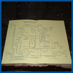 wiring diagrams - with cowl lights - model a ford - buy online!